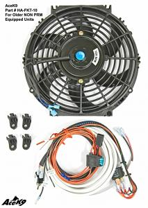 "Optional 10"" Fan, Activation Module, Manual Switch & Materials"