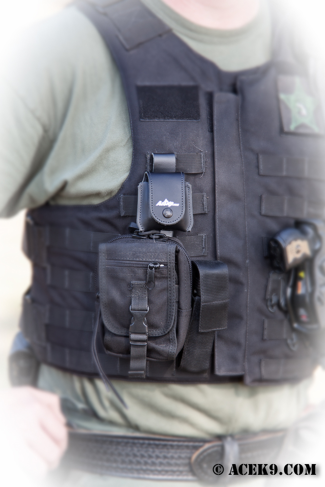 Remote on Tac Vest