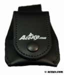 K9 DOOR POPPER LEATHER HOLSTER  FOR SINGLE BUTTON TRANSMITTER